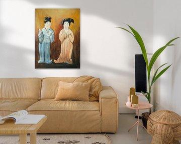 """Les grosses dames chinoises """"Fat ladies"""" VIII sur Linda Dammann"""