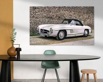 Mercedes-Benz 300SL Roadster cabriolet klassieke sportwagen van Sjoerd van der Wal