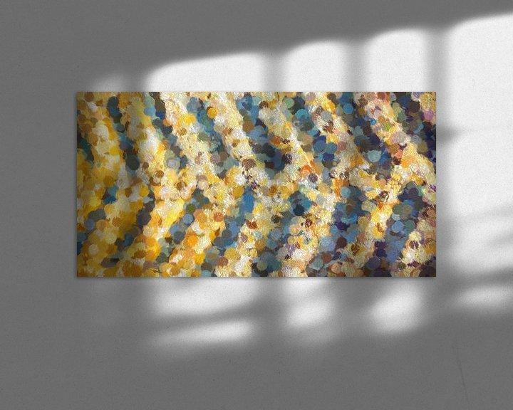 Impression: motif de couleur abstrait sur Corrie Ruijer