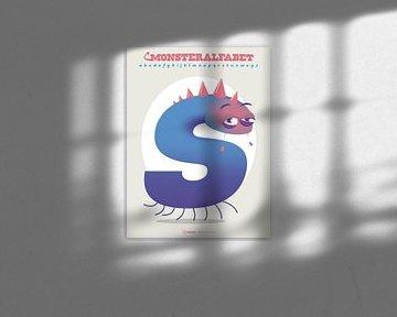 Monster Alphabet Buchstabe S von Gilmar Pattipeilohy