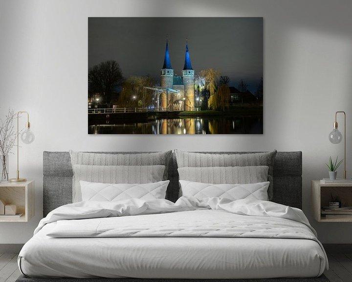 Beispiel: Blick auf das Delfter Osttor von Peter Sneijders