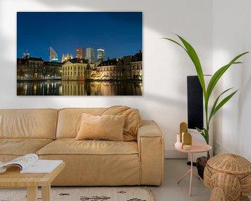 Skyline Den Haag  van Peter Sneijders
