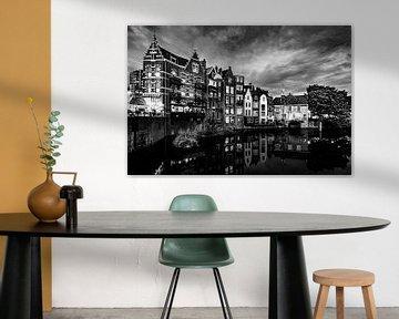 Oud Delfshaven(Zwart-Wit) van Jeroen Diks