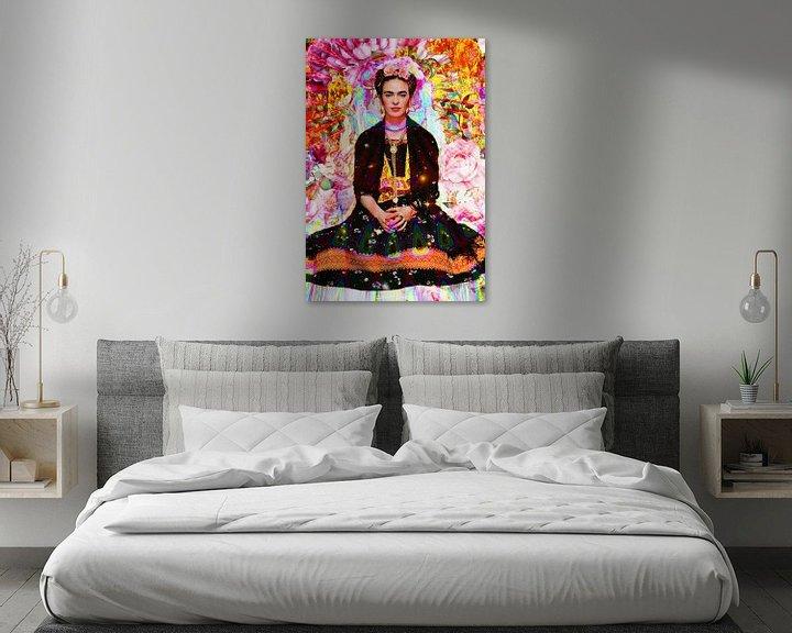 Beispiel: Frida Kahlo Lotus von Giovani Zanolino