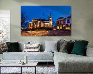 Bergkerk in Deventer, Nederland van Adelheid Smitt