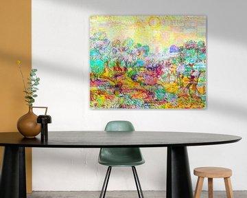 Olivenbäume von Zanolino und Van Gogh