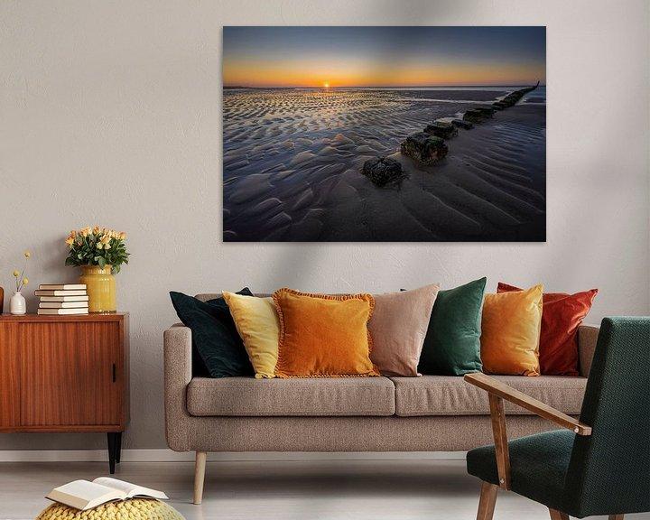Sfeerimpressie: Lijnenspel aan de Zeeuwse kust van Thom Brouwer