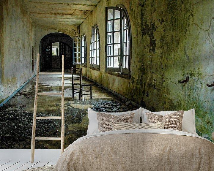Beispiel fototapete: Saal im Kloster von Heleen Sloots