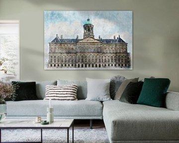 Amsterdam, Paleis op de Dam van Bert Koppe