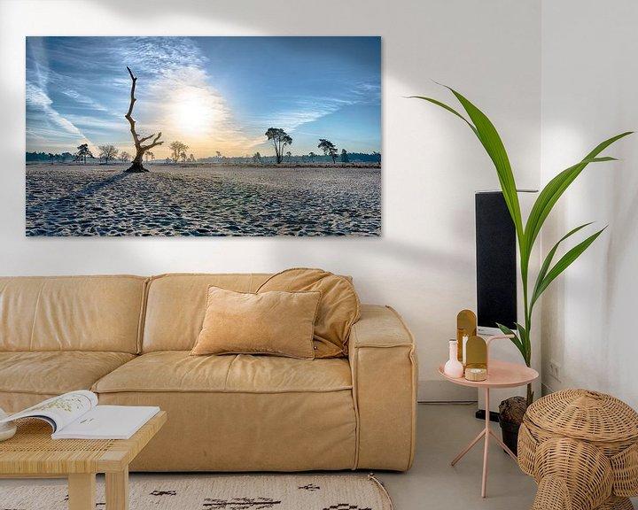 Impression: L'art dans le paysage sur Mark Bolijn