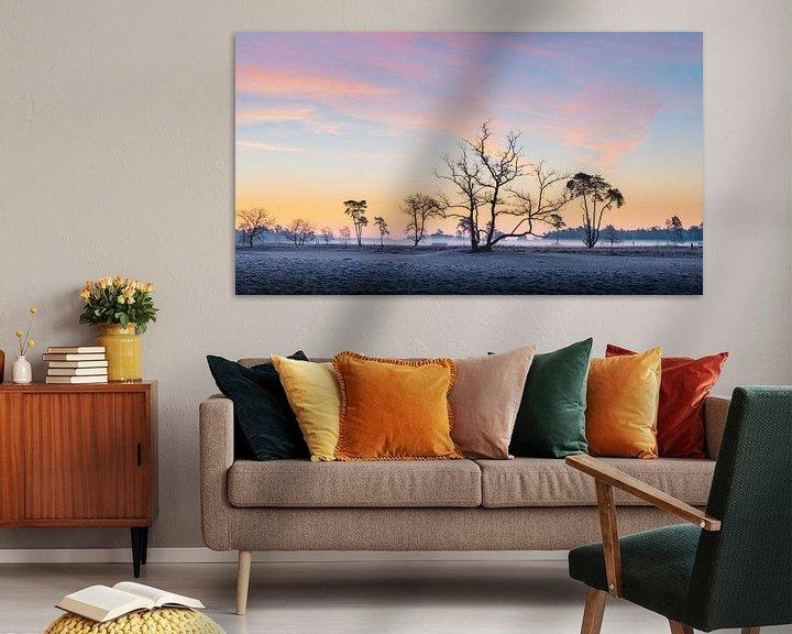 Impression: Lever de soleil dans les dunes de Drunense sur Mark Bolijn