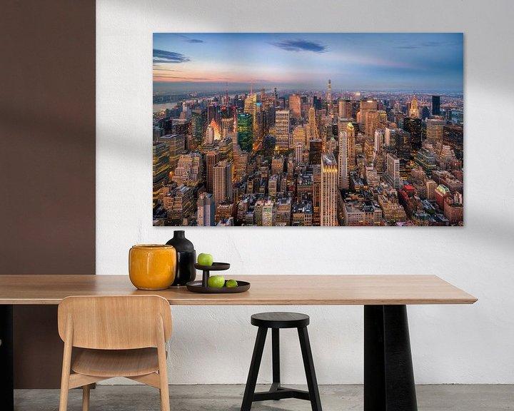 Sfeerimpressie: Manhattan van Photo Wall Decoration