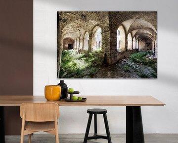 Verlassenes Kloster 1 von Kirsten Scholten