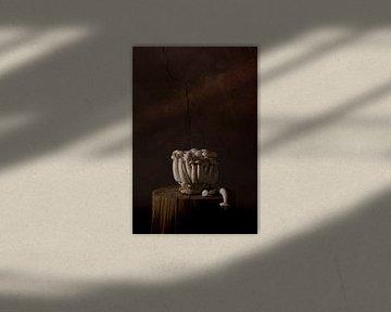 Stillleben Pilze von Ilona van der Burg