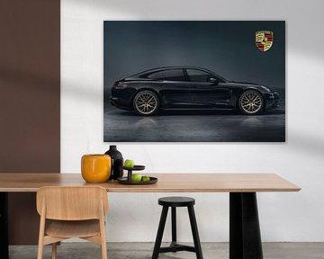 Porsche Panamera mit Wappen von Gert Hilbink