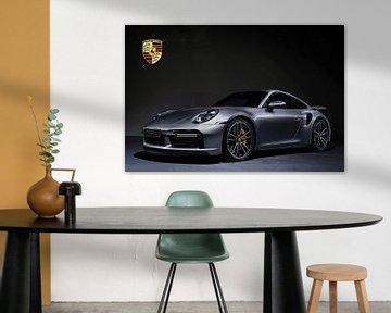 Porsche 911 Turbo S mit Wappen von Gert Hilbink