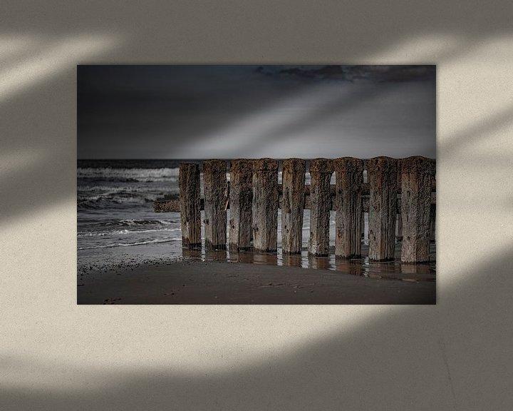 Sfeerimpressie: zeeland paalhoofden van anne droogsma