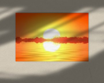 zonnetje van Oranje van Henk Egbertzen