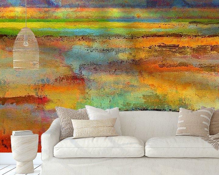 Sfeerimpressie behang: Abstract NH Waterland van Ger Veuger