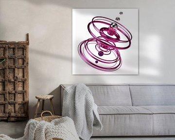 Rosa Spirale von shoott photography
