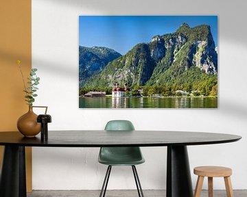 Blick auf den Königssee im Berchtesgadener Land von Rico Ködder