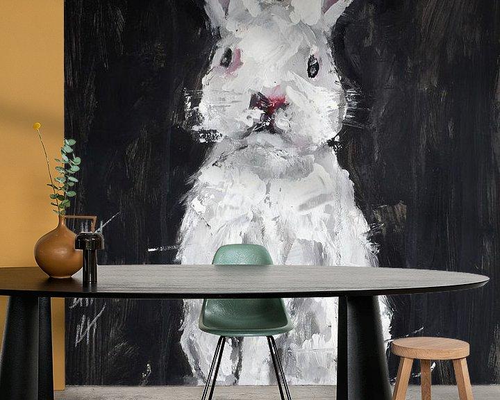 Beispiel fototapete: little Bunny von Christin Lamade