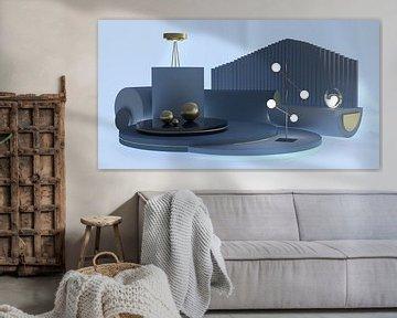 Blaues Zimmer von shoott photography