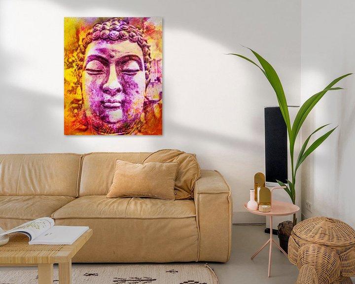 Beispiel: Buddha - Bunt 07032021 von Michael Ladenthin