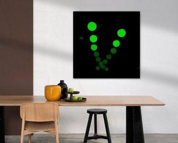 Glow Pendulum groen von Greetje van Son