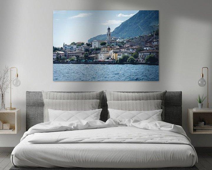 Sfeerimpressie: Limone Sul Garda aan het gardameer in Italië van Felix Van Lantschoot