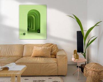 Grüne Bögen von shoott photography
