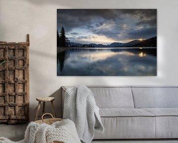 Sonnenaufgang am Walchensee von Andreas Müller