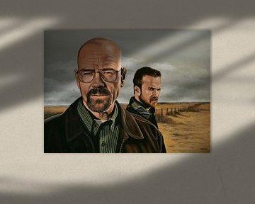 Breaking Bad schilderij von Paul Meijering