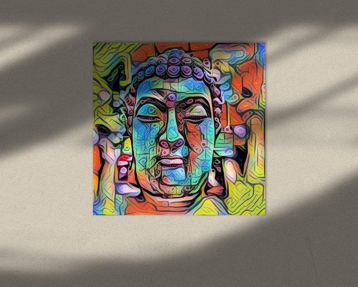 Beispiel: Buddha Shadow 07032021 von Michael Ladenthin