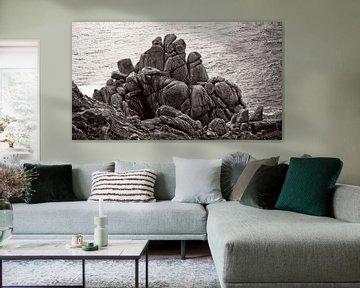 Gebeeldhouwde rotsen van Mark Veldman