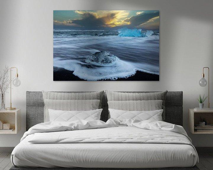 Impression: Glaces à la plage de Diamond sur Tilo Grellmann | Photography