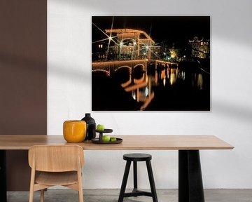 De Magere Brug, Amsterdam van Rene van der Meer