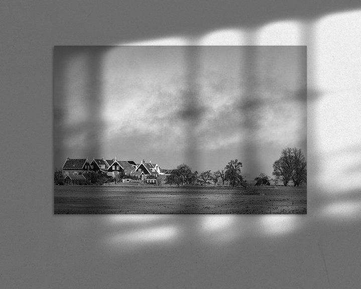 Sfeerimpressie: Hollands Landschap van Ton de Koning