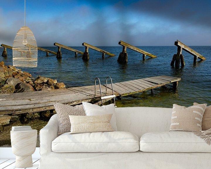 Sfeerimpressie behang: Markenmeer ijsbrekers van Ton de Koning