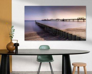 pier in Kellenhusen / Oostzee van Steffen Henze