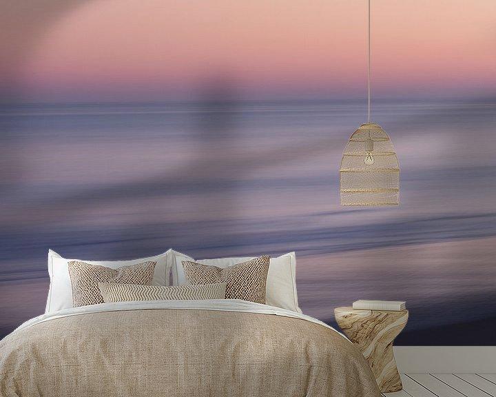 Beispiel fototapete: Sonnenaufgang am Strand der Opalküste. von Astrid Brouwers