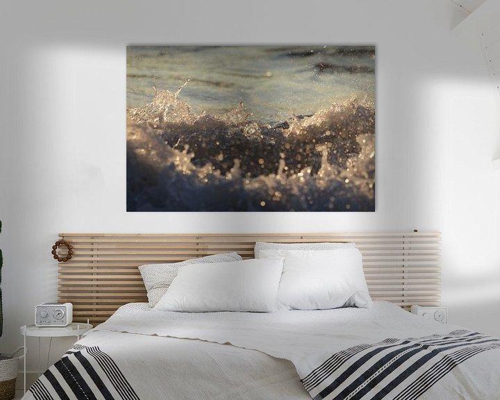 Beispiel: Raue Wellen an der Opalküste von Astrid Brouwers