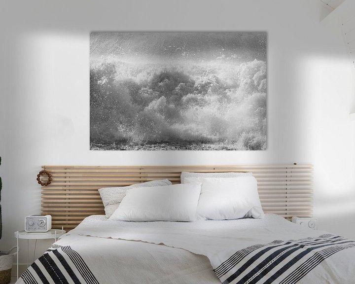 Beispiel: Raue Wellen an der Opalküste (II) von Astrid Brouwers