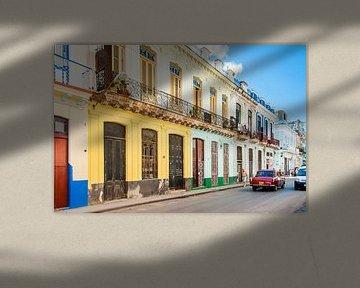 Kleurrijk Havana, colorful van Corrine Ponsen