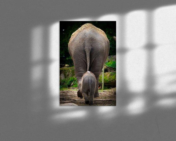 Sfeerimpressie: Groot en klein van Evert Buitendijk
