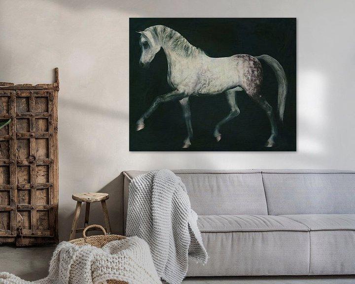 Sfeerimpressie: Paard uitgestrekt van Jan Keteleer