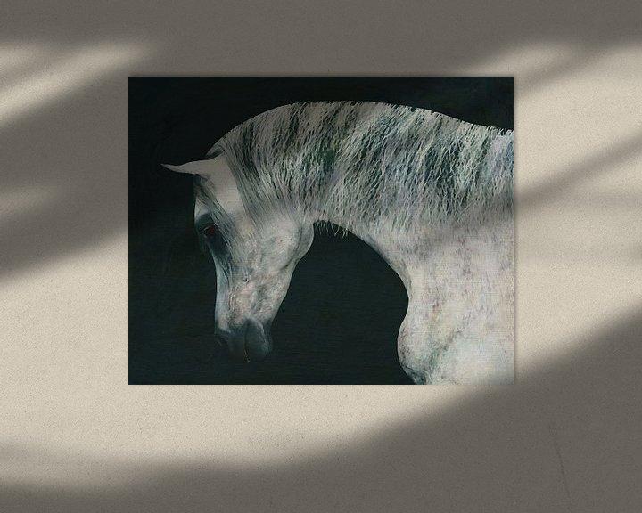 Beispiel: Pferdekopf von Jan Keteleer