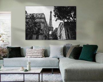 Paris 2018 | La Tour Eiffel en noir et blanc sur Arma Kremers