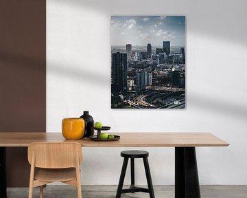 Rotterdams uitzicht richting Rotterdam-Noord van MAT Fotografie