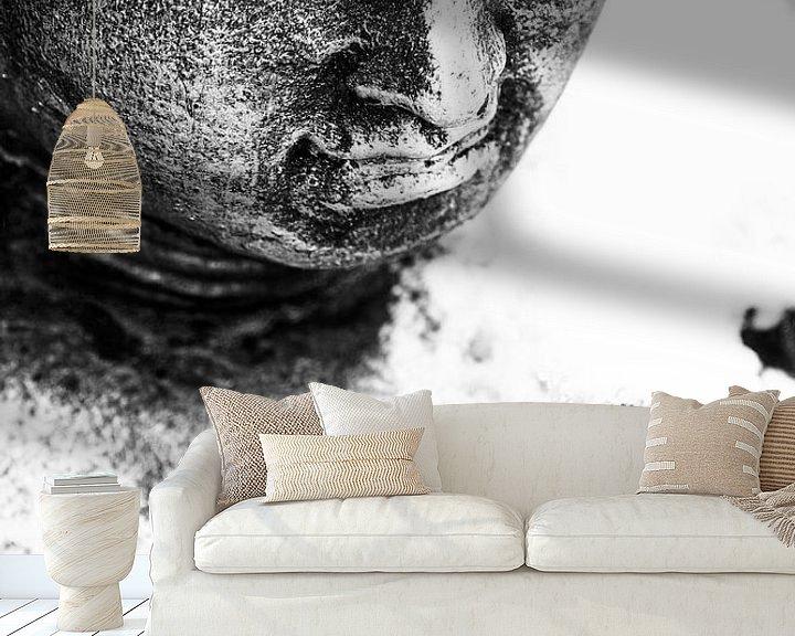 Beispiel fototapete: Boeddha von Jacqueline Lodder